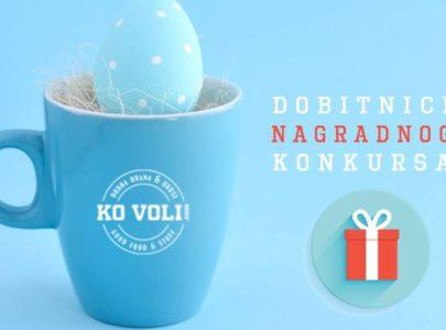 Najlepša uskršnja jaja – dobitnici KoVoli nagradnog konkursa