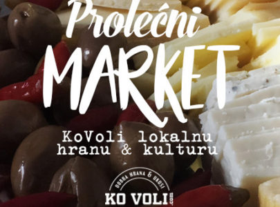 Prolećni market KoVoli lokalnu hranu & kulturu