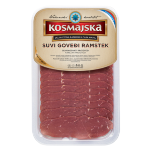 Kosmaj-dry-beefi-rump steak-sliced-80g