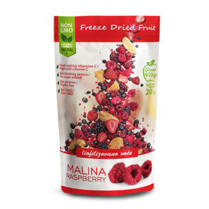 Freeze dried-raspberry-Drenovac