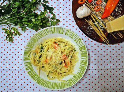 Špageti Aglio e olio – jednostavno i brzo