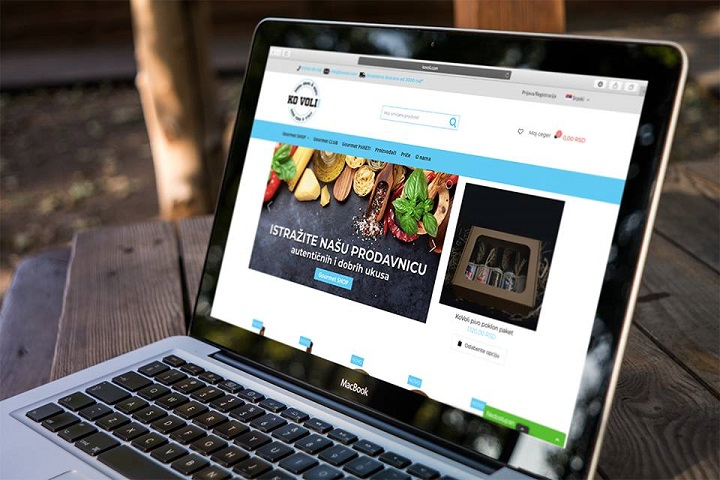 Gourmet (web)shop-ovi ili specijalizovane (online) prodavnice hrane za sladokusce